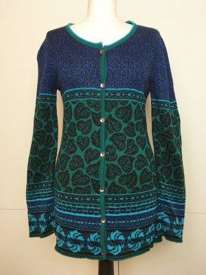 Knitted Cardigan multicolored cotton