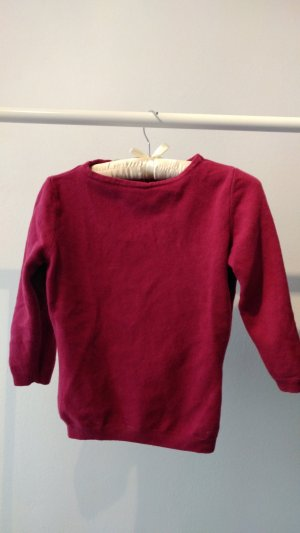 Himbeerfarbender United Colors of Benetton Pullover