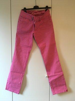 Himbeerfarbene Jeans von edc