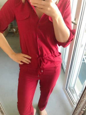 Zara Jumpsuit raspberry-red