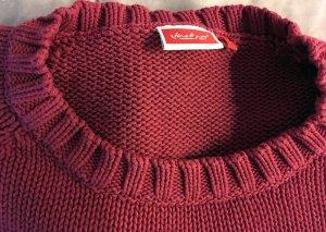 Himbeerfarbener Pullover von Jackpot Gr. 3