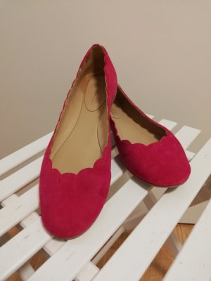 lazzarini Ballerinas raspberry-red
