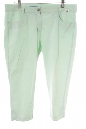 Himmelblau 7/8-Hose mint Street-Fashion-Look