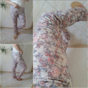 Himmelblau by Lola Paltinger Drainpipe Trousers multicolored
