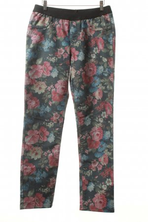 Himmelblau by Lola Paltinger Jeggings Blumenmuster Romantik-Look
