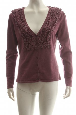 Himmelblau by Lola Paltinger Strick Cardigan violett Casual-Look