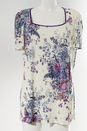 Himmelblau by Lola Paltinger Camiseta estampado floral look casual