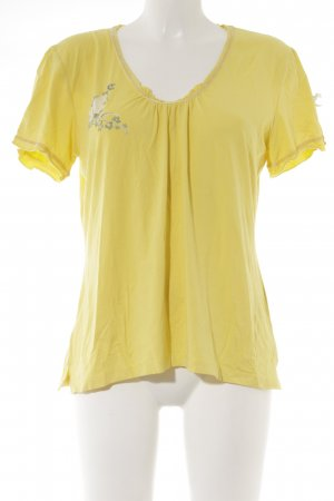 Himmelblau by Lola Paltinger Camiseta amarillo look casual