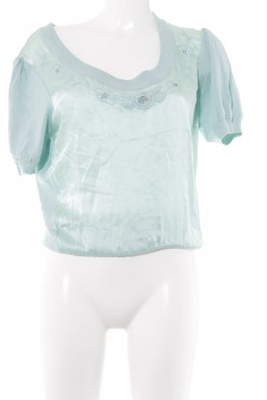 Himmelblau by Lola Paltinger T-Shirt türkis Casual-Look