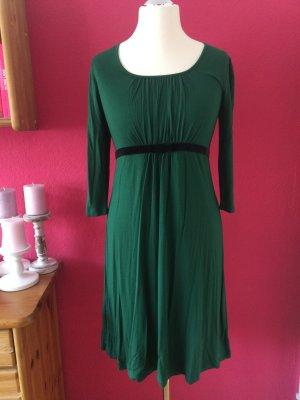 Himmelblau by Lola Paltinger tannengrünes Jerseykleid neu