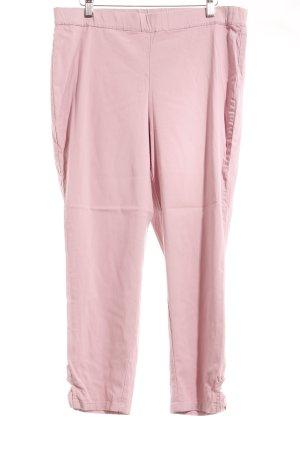 Himmelblau Stretchhose rosa Casual-Look