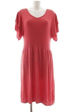Himmelblau Vestido tejido rojo claro look casual