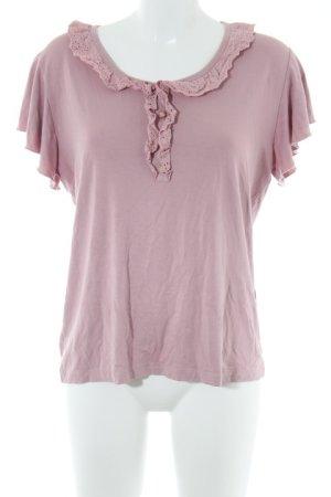 Himmelblau T-Shirt altrosa Casual-Look