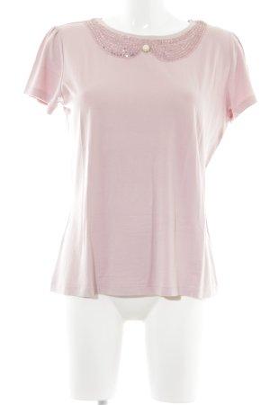 Himmelblau T-Shirt rosa Elegant