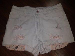 Himmelblaue H&M Jeans Shorts