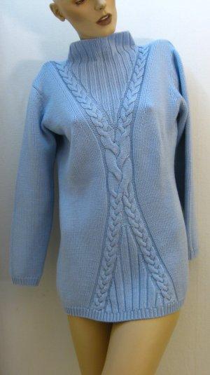 Jersey de lana azul celeste Lana