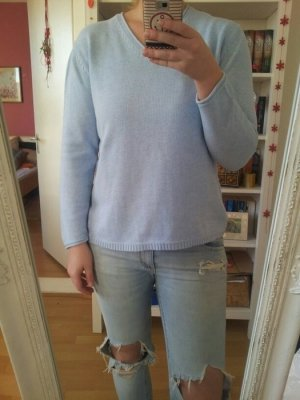 Himmelblauer Pullover Pulli Strick