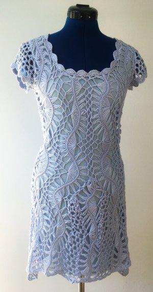 Asos Robe en maille tricotées bleu azur