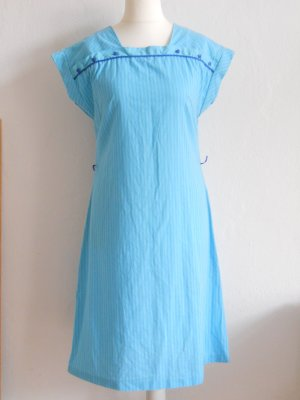 Himmelblaues Vintage-Kleid ca. Gr. 42 Rockabilly