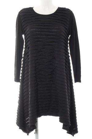 Hindahl & Skudelny Jerseykleid schwarz-dunkelblau Casual-Look