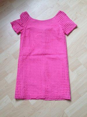 Hingucker pinkes Kleid
