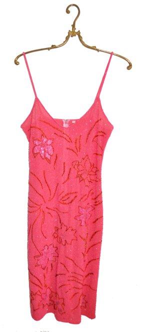 Hingucker Sommerkleid mit Pailletten Gr. 36/38 (ca. großes S/kleines M)