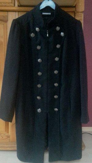 3 Suisses Abrigo de lana negro