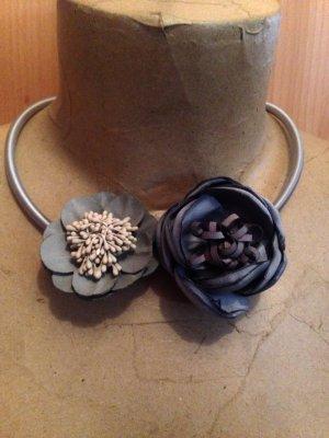 Hingucker!! Traumhafte Vintage Statement Kette Flower Handmade NEU