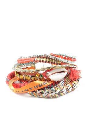 Hipanema Armband hellorange Casual-Look