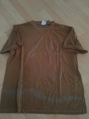 American Retro T-Shirt beige-bronze-colored