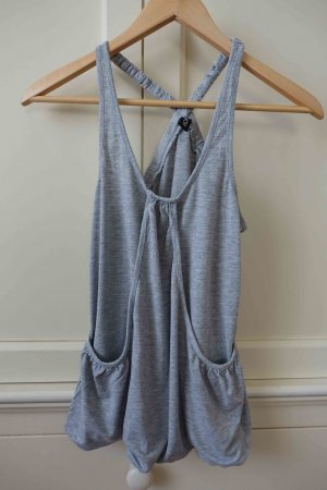 Hippes Tank-Top von Only in Grau in Small