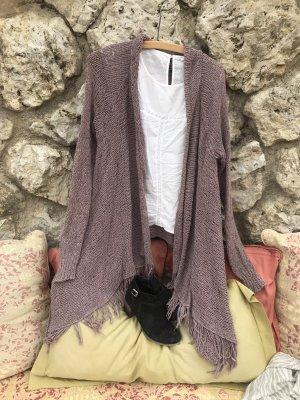 American Eagle Outfitters Cardigan a maglia grossa malva