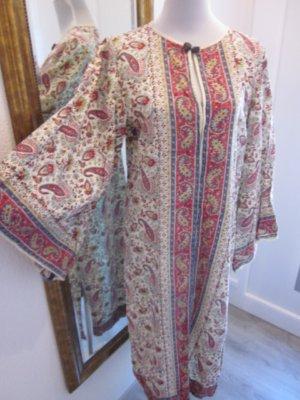 Hippie 70 ziger Vintage Kleid Ethno Gr L