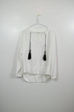 Hippie Bluse H&M one size mit Bommeln