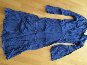 Hippie Bohemian Kleid Lavendel Blau Gr. 32 34