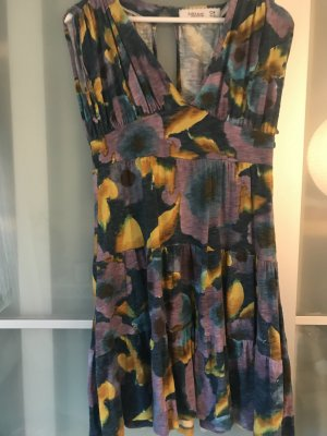 Zara Robe Hippie multicolore tissu mixte