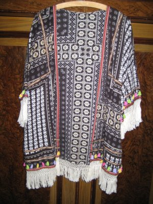 SheIn Kimono blouse veelkleurig