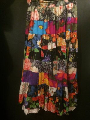 Hippie flower skirt *colorful*