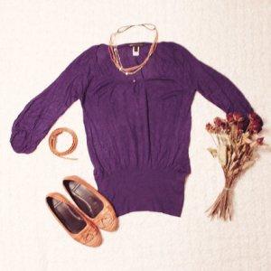 Hippie Girl | 3/4-Arm-Shirt im Boho/Hippie-Look
