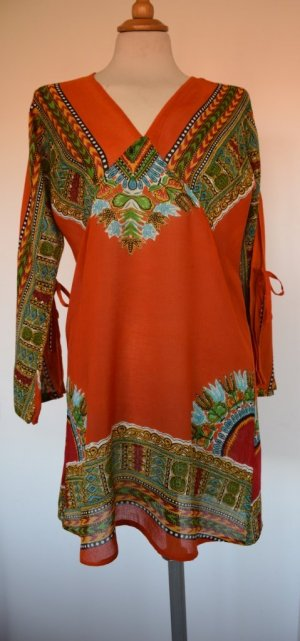 Tunic Dress multicolored cotton