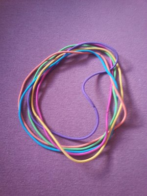 Hippie Haarbänder Neon