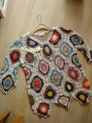 Vestido Hippie multicolor Acrílico