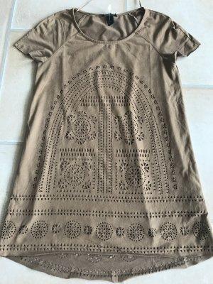 Hippie Ibiza Native Indian Summer Beach Party Look XS S wunderschönes Kleid von H&M  mit Unterkleid XS