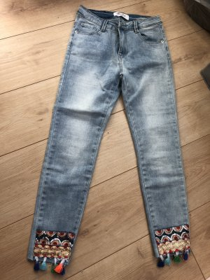 Blue Rags 7/8 Length Jeans azure-light blue
