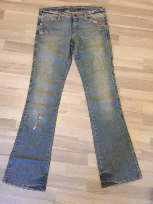 Hippie Jeans von Wrangler - Größe 28/34