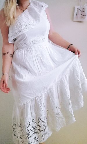 Nelly Hippie Dress white