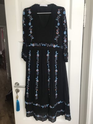 Zara Hippie Dress black-blue