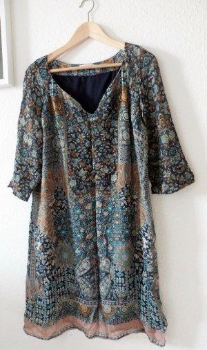 Hippie-Kleid mit dreiviertel-Ärmeln