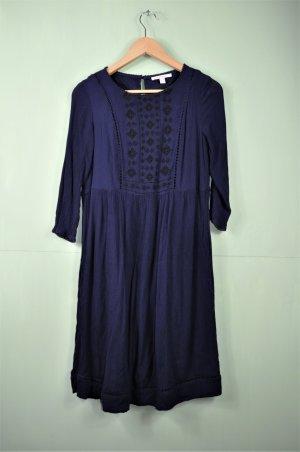 Hippie Kleidchen von Esprit mit Stickerei und Lochmuster