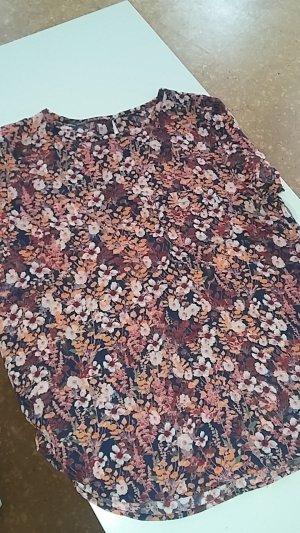 Hippie-Look! Feines Shirt florales Muster/Blumenmuster